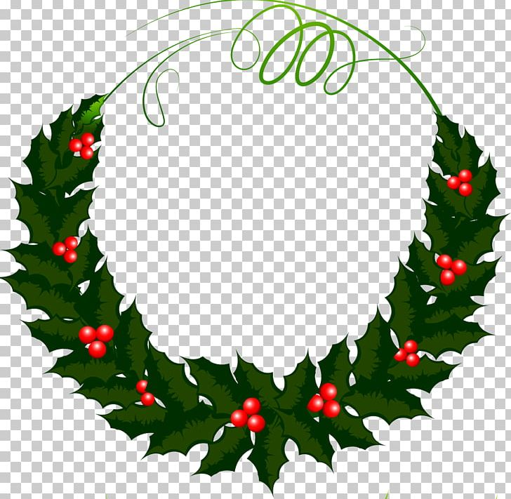 Holly wreath clipart clip art library download Holly Wreath Photography Leaf PNG, Clipart, Aquifoliaceae ... clip art library download