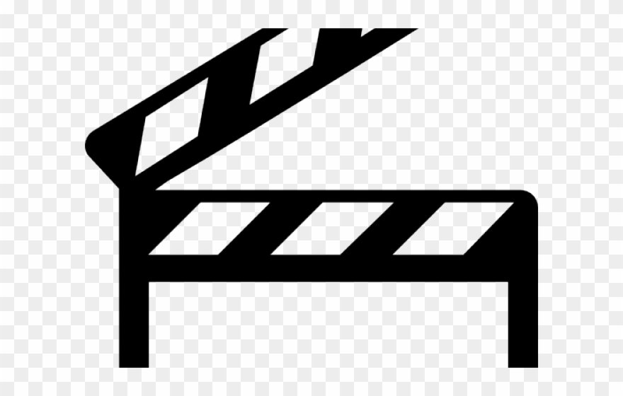 Hollywood clipart black and white clip library stock Filmstrip Clipart Hollywood Spotlight - Clapper Board Icon ... clip library stock