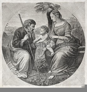Holy family clipart free graphic free Free Clipart Holy Family | Free Images at Clker.com - vector ... graphic free