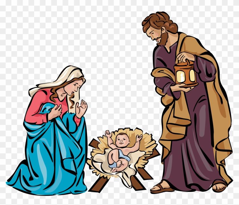 Holy family clipart free clip library Nativity Free Clipart - Christmas Holy Family Png ... clip library
