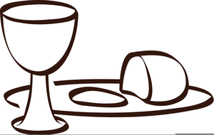 Holy thursday free clipart black and white Clipart Maundy Thursday | Free Images at Clker.com - vector ... black and white
