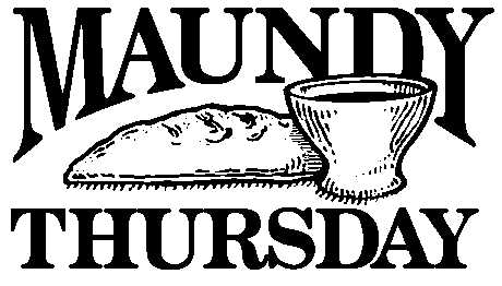 Holy thursday free clipart graphic black and white download Free Maundy Cliparts, Download Free Clip Art, Free Clip Art ... graphic black and white download