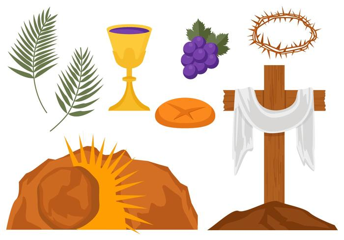 Holy week free clipart clipart library stock Free Holy Week Vector Illustration - Download Free Vector ... clipart library stock