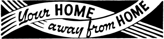 Home away from home clipart