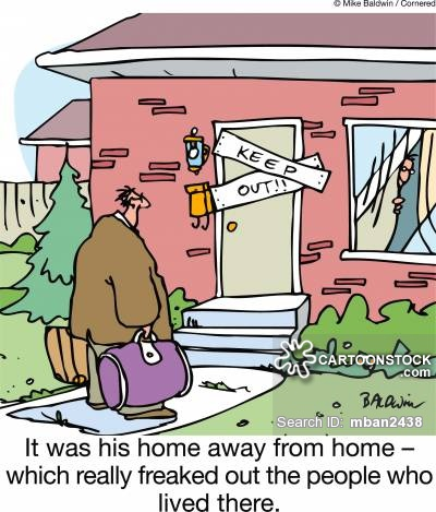 Home away from home clipart clip transparent stock Home Away From Home Cartoons and Comics - funny pictures from ... clip transparent stock
