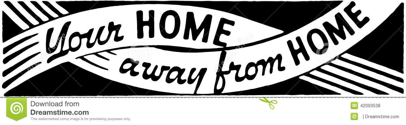 Home away from home clipart clip art free download Your Home Away From Home 2 Stock Vector - Image: 42093538 clip art free download
