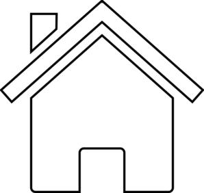 House png clipart black and whit png transparent White House Clip Art at Clker.com - vector clip art online ... png transparent