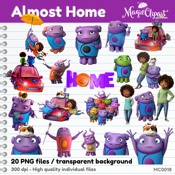 Home character clipart clip royalty free Movie home character clipart - ClipartFest clip royalty free