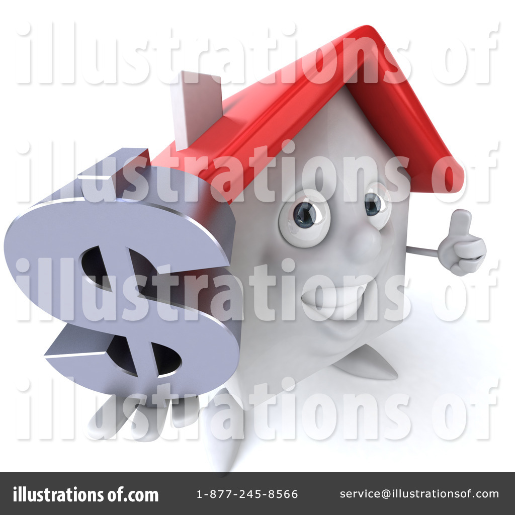 Home character clipart vector library White Clay Home Character Clipart #56200 - Illustration by Julos vector library