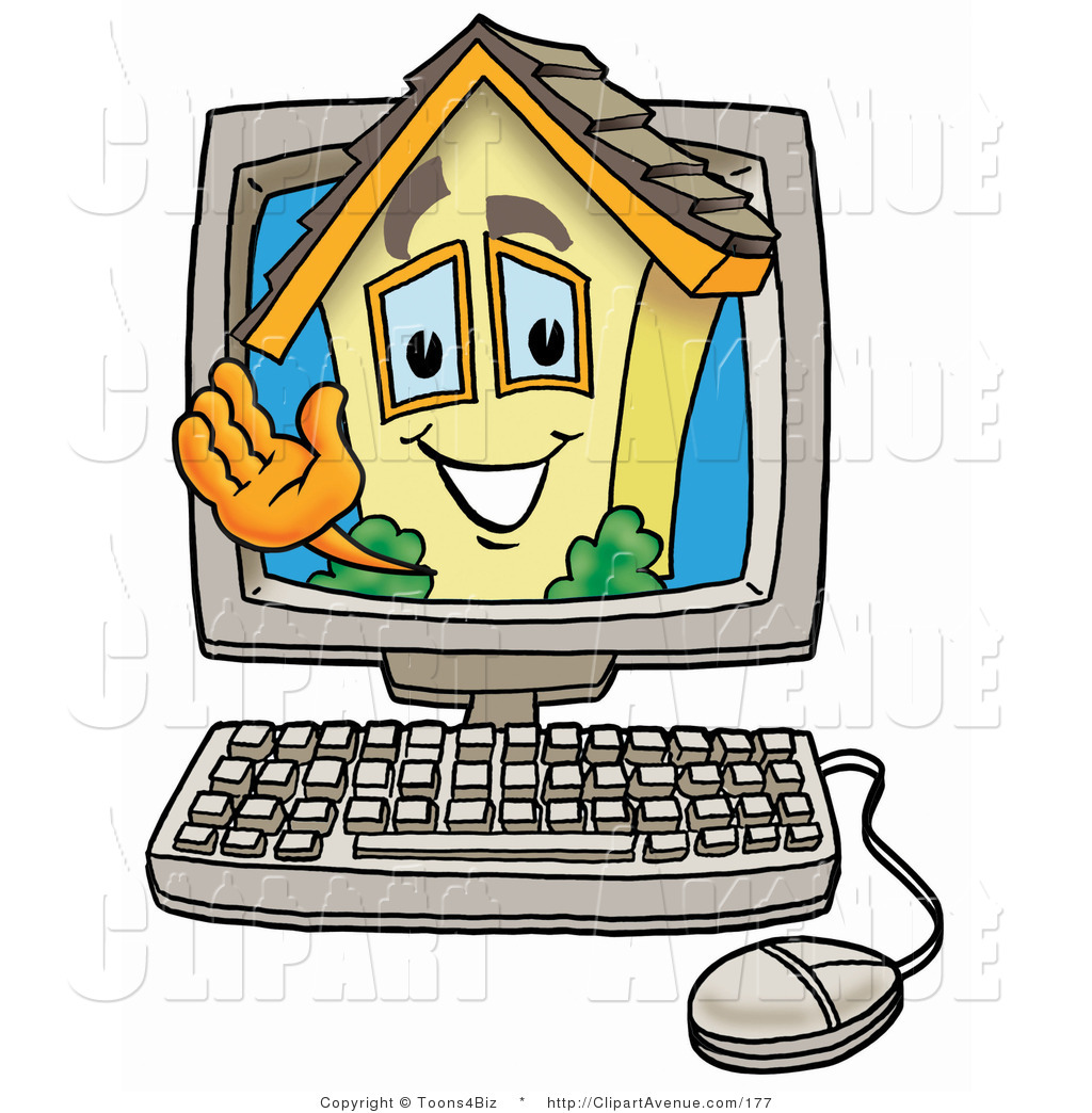 Home character clipart vector freeuse download Computer cartoon characters clipart - ClipartFest vector freeuse download
