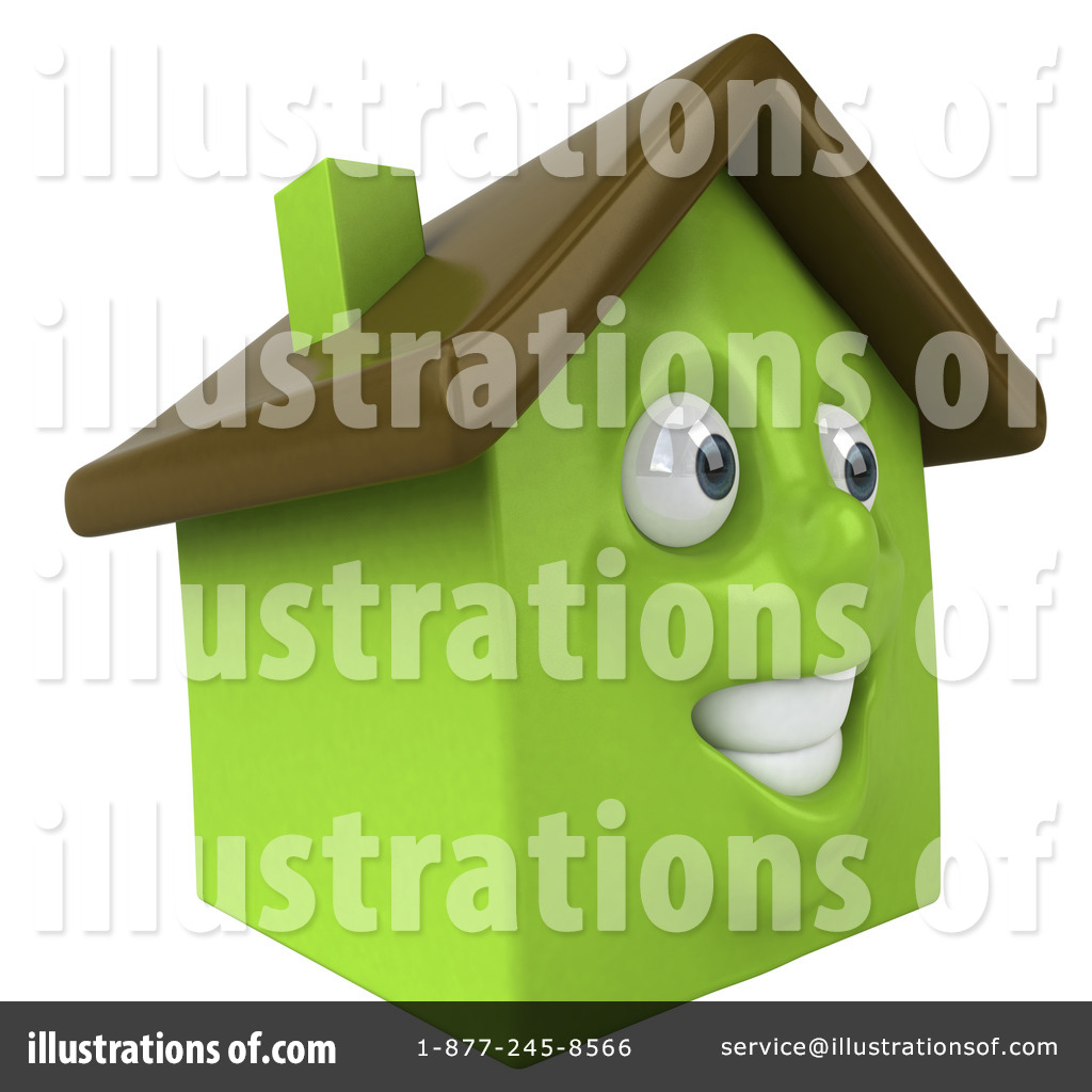 Home character clipart png stock Green Clay Home Character Clipart #56228 - Illustration by Julos png stock