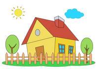 Home clipart banner transparent Free Home Clipart - Clip Art Pictures - Graphics - Illustrations banner transparent