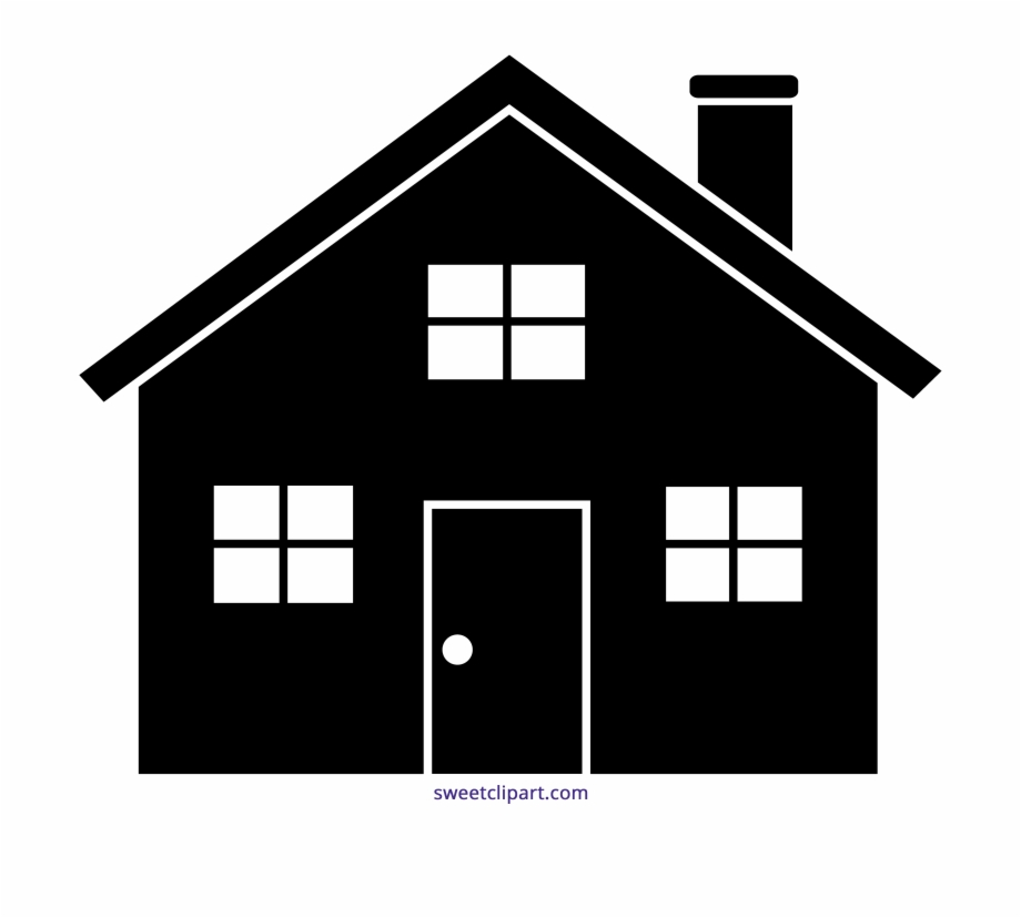 Home clipart black and white free download clip art royalty free library Houses Clipart Black And White - House Clipart Free PNG ... clip art royalty free library