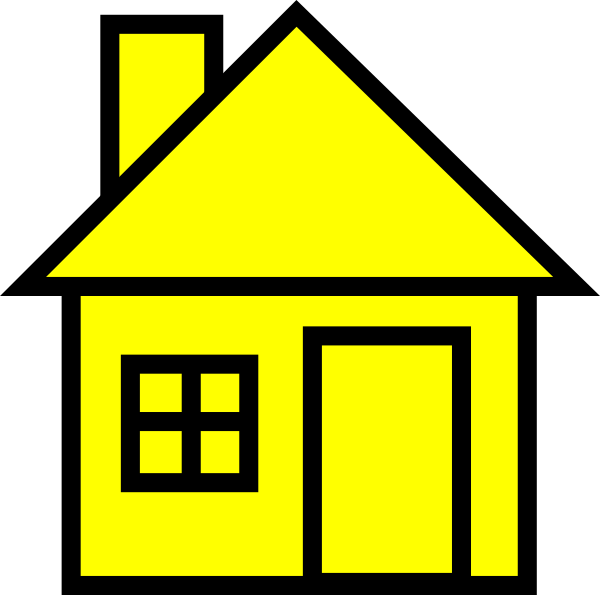 Home cliparts yellow jpg freeuse library Home clipart yellow, Home yellow Transparent FREE for download on ... jpg freeuse library