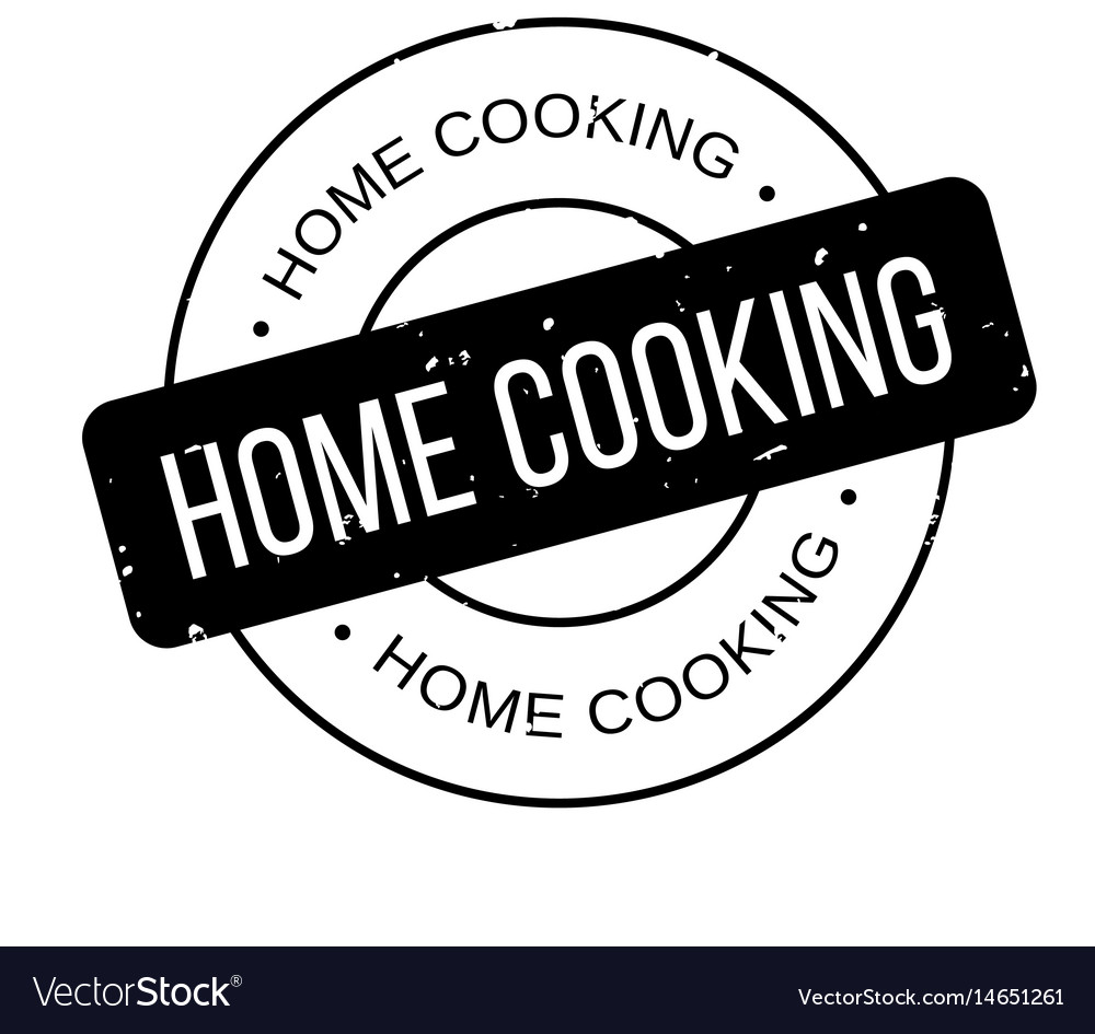Home cooking clipart jpg freeuse library Home cooking rubber stamp vector image jpg freeuse library