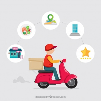 Home delivery clipart clip library Delivery Vectors, Photos and PSD files | Free Download clip library