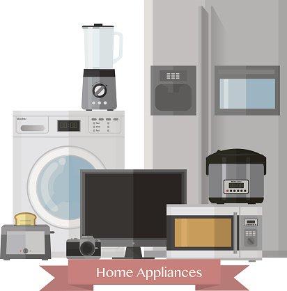 Home electronics clipart svg Home Electronics of Household Technics premium clipart - ClipartLogo.com svg