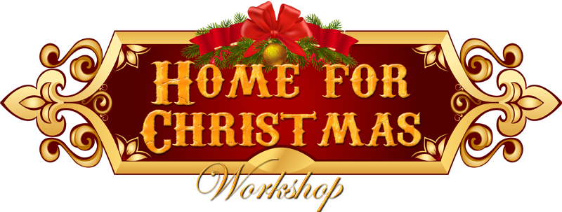 Home for christmas clipart vector black and white Home for Christmas Workshop - Stutzmans Greenhouse & Garden ... vector black and white