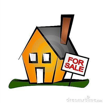 Home for sale clipart stock House For Sale clip art | Real Estate Clip Art in 2019 | Buying your ... stock