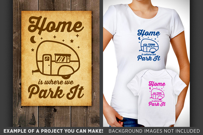Home is where you park it clipart jpg royalty free library Home Is Where You Park It Svg - Camper Sign - Camper Decor - Camper Clipart  - Tree Svg - Crescent Moon Svg - 640 jpg royalty free library