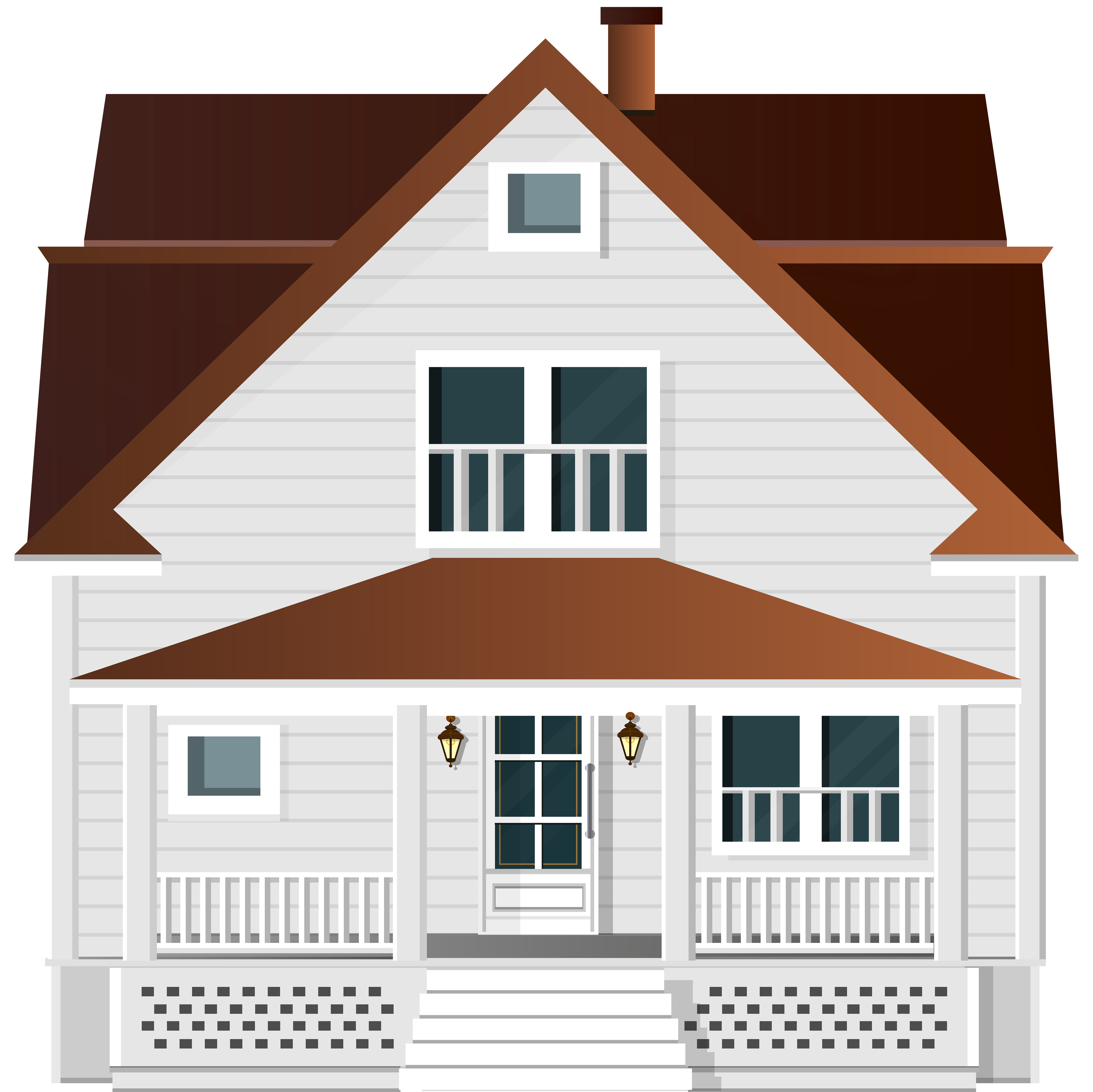 Parts of the house clipart vector free download White House PNG Clip Art - Best WEB Clipart vector free download