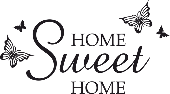 Home sweet home clip art vector transparent download Home sweet home clipart png - ClipartFest vector transparent download