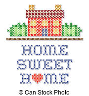 Home sweet home clip art svg freeuse library Home sweet home Clipart and Stock Illustrations. 8,545 Home sweet ... svg freeuse library