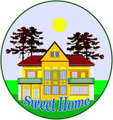 Home sweet home clipart vector transparent stock Home Sweet Home Clipart | Clipart Panda - Free Clipart Images vector transparent stock