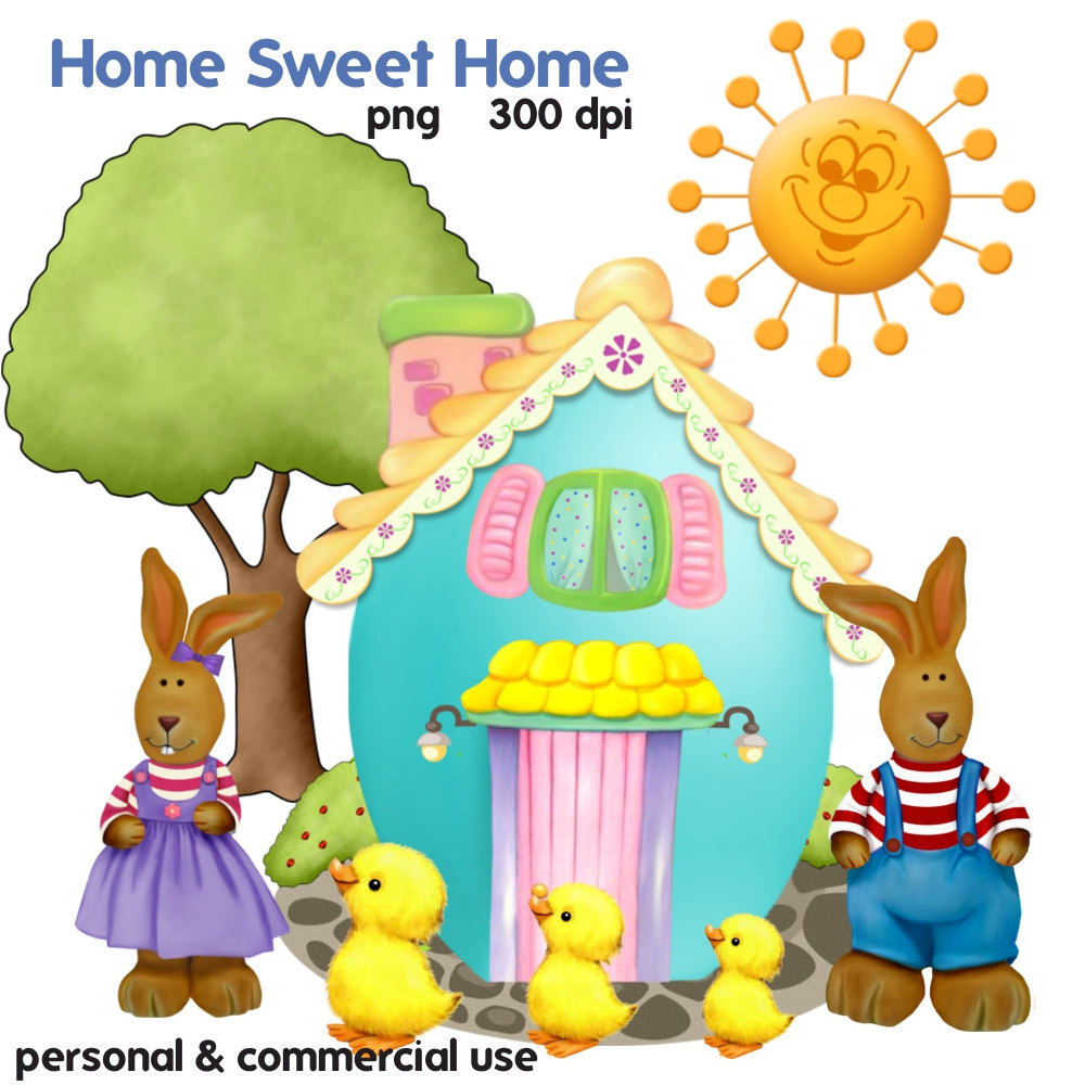 Home sweet home clipart clip art transparent Sweet home clipart - ClipartFest clip art transparent