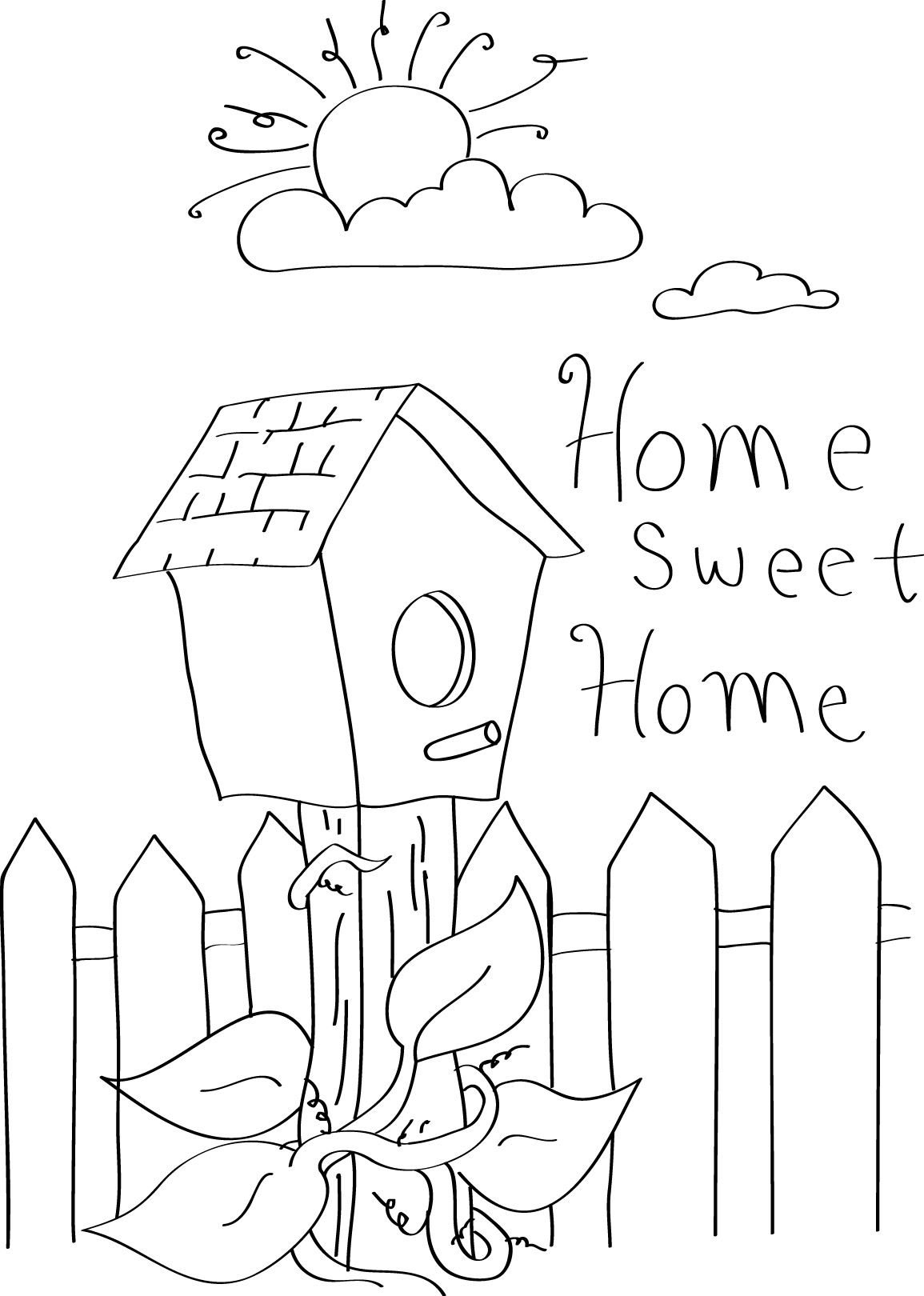 Home sweet home clipart vector stock Home Sweet Home Clipart - Cliparts and Others Art Inspiration vector stock