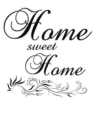 Home sweet home clipart black and white svg royalty free download 17 Best images about Home sweet home on Pinterest | Folk art ... svg royalty free download