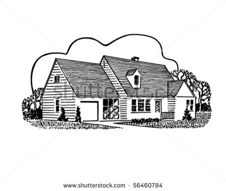 Home sweet home clipart black and white free download Home Vintage Clipart - Clipart Kid free download