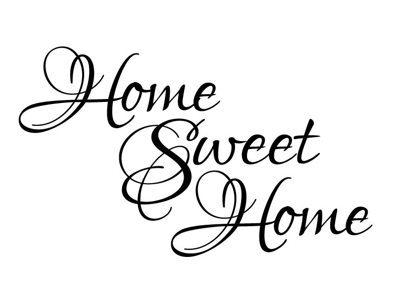 Home sweet home clipart black and white graphic transparent Home Sweet Home Black And White Clipart - Clipart Kid graphic transparent