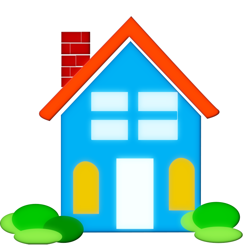 House with sun clipart svg freeuse Home Clip Art Free | Clipart Panda - Free Clipart Images svg freeuse