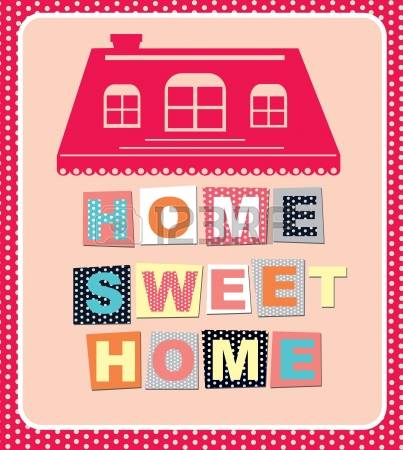 Home sweet home clipart house picture freeuse 6,209 Warm Home Cliparts, Stock Vector And Royalty Free Warm Home ... picture freeuse