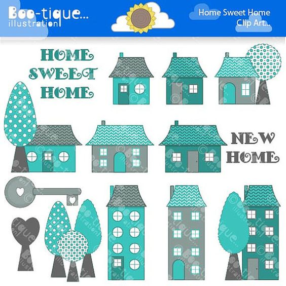 Home sweet home clipart house png freeuse stock Sweet home, New homes and Sweet on Pinterest png freeuse stock