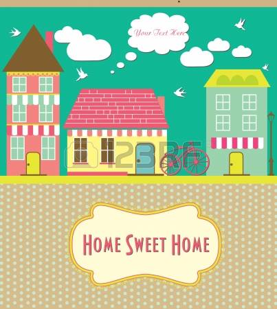 Home sweet home clipart house clip art library library 6,209 Warm Home Cliparts, Stock Vector And Royalty Free Warm Home ... clip art library library