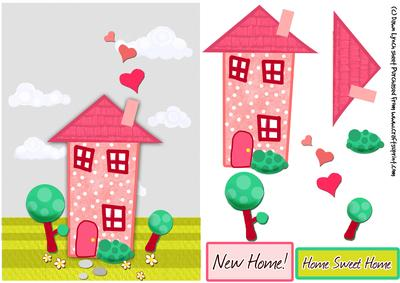 Home sweet home clipart house clip free download Clipart new home - ClipartFest clip free download