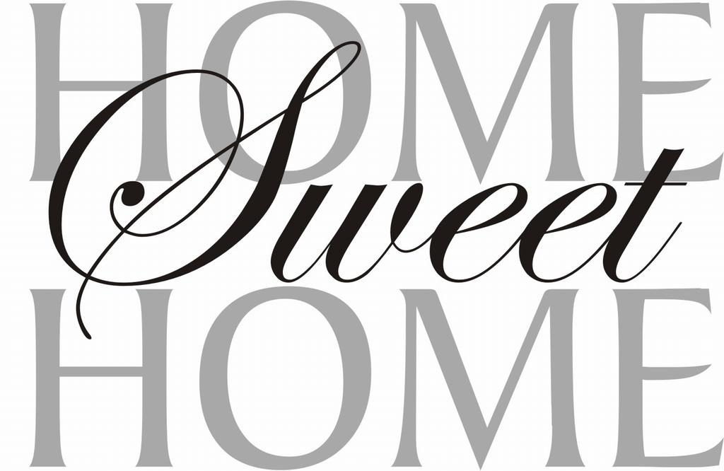 Home sweet home clipart png banner library stock Home sweet home clipart black and white - ClipartFest banner library stock