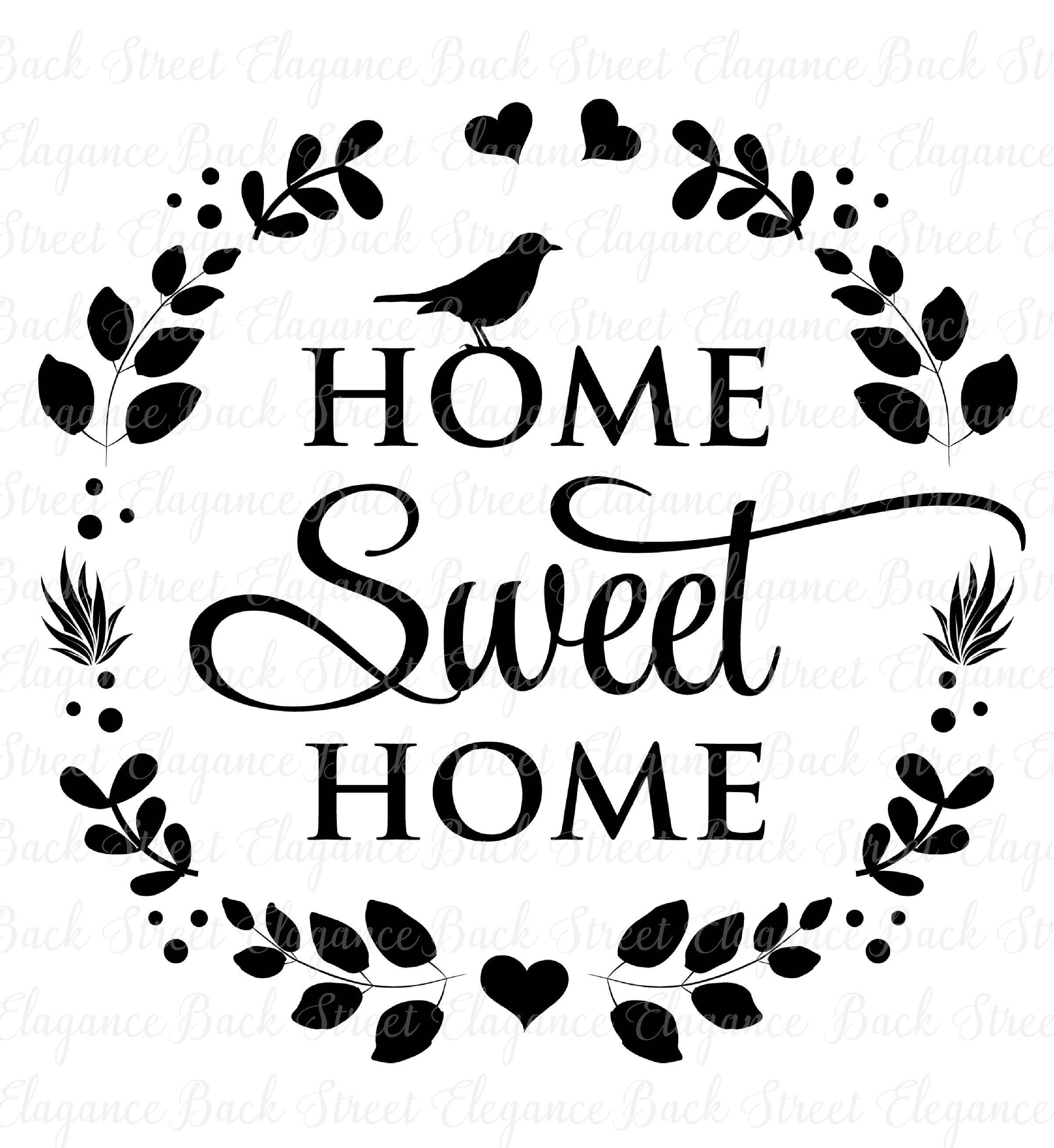 Home sweet home clipart white svg black and white download Home Sweet Home Png & Free Home Sweet Home.png Transparent Images ... svg black and white download