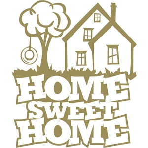 Home sweet home house silhouette clipart graphic royalty free stock Silhouette Design Store - View Design #31221: home sweet home graphic royalty free stock