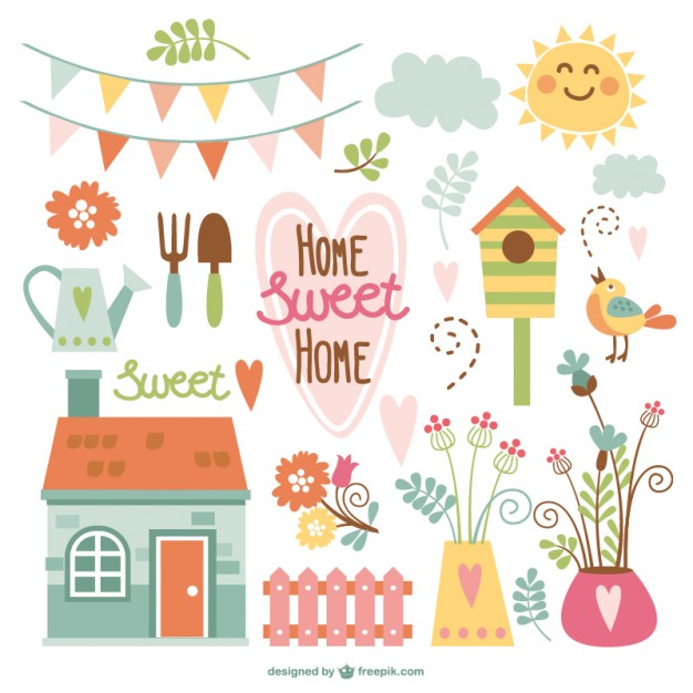 Home sweet home house silhouette clipart svg library library Home Sweet Home Vectors, Photos and PSD files | Free Download svg library library