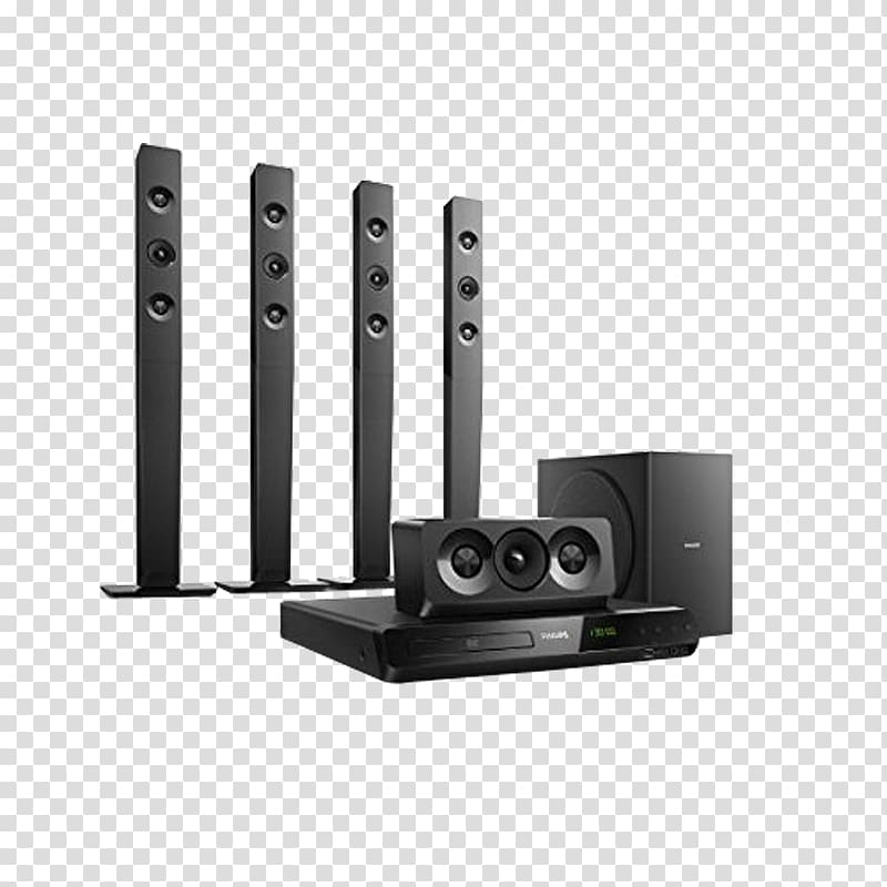 Home theater system clipart clip transparent Blu-ray disc Home Theater Systems 5.1 surround sound Cinema Philips ... clip transparent