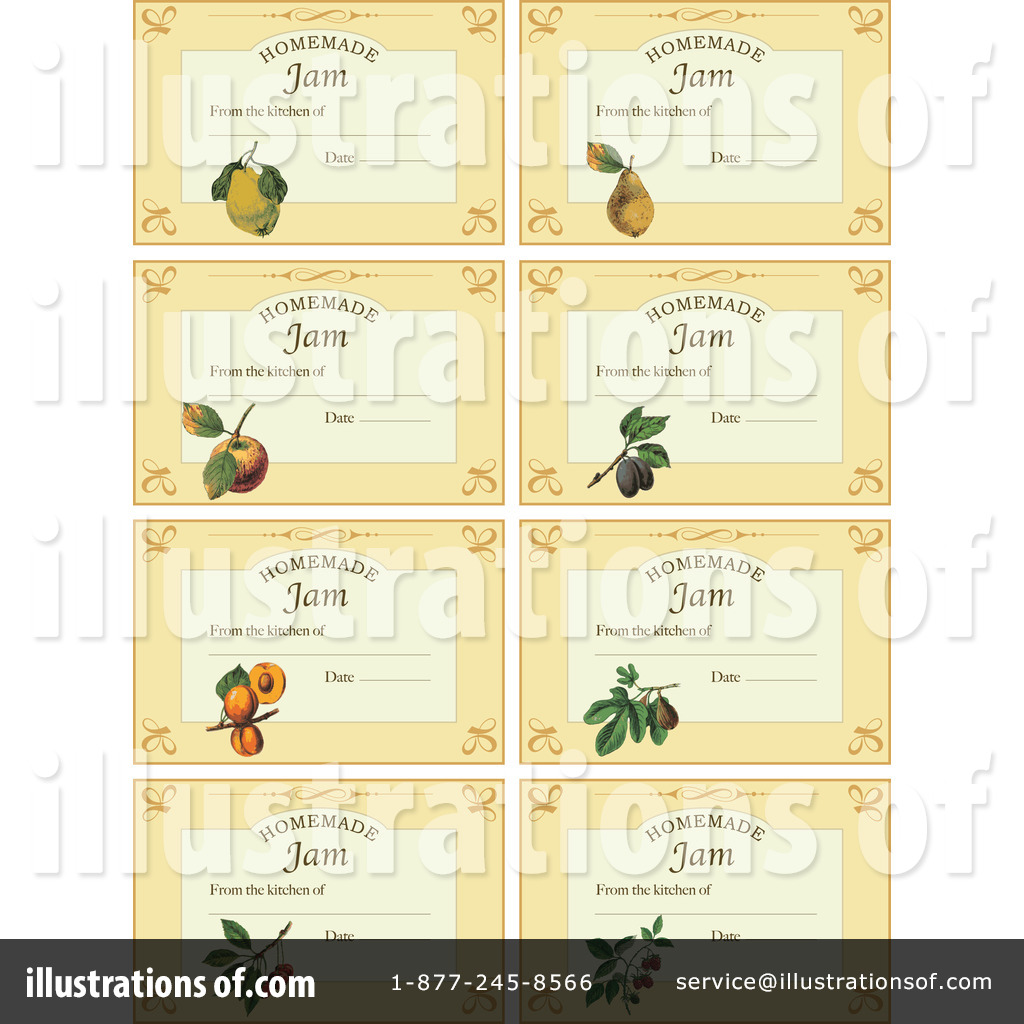 Homemade jam labels clipart banner free Labels Clipart #211202 - Illustration by Eugene banner free