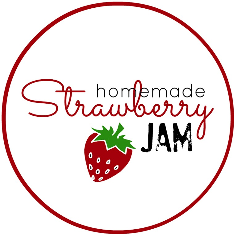 Homemade jam labels clipart png library Homemade Strawberry Jam Free Jam Labels - The Idea Room - Clip Art ... png library