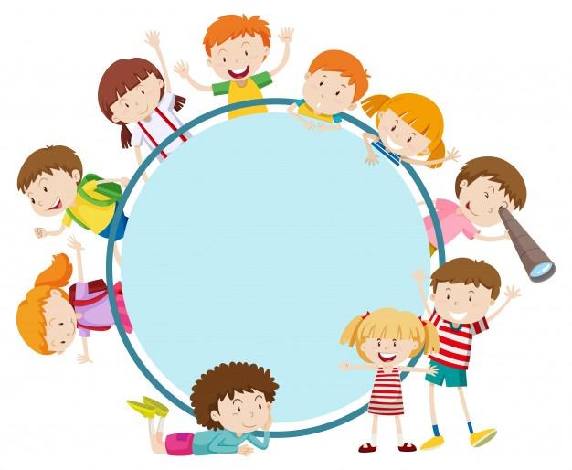 Kids working in different corner groups clipart graphic freeuse download Children Vectors, Photos and PSD files | Free Download graphic freeuse download