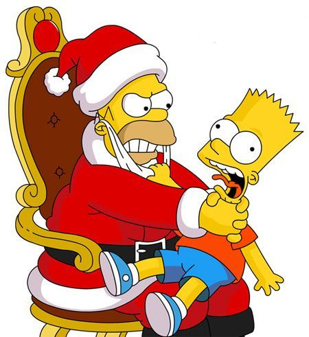 Homer simpson with santa hat clipart graphic library download pictures.4ever.eu] santa claus simpson, homer simpson, bart simpson ... graphic library download