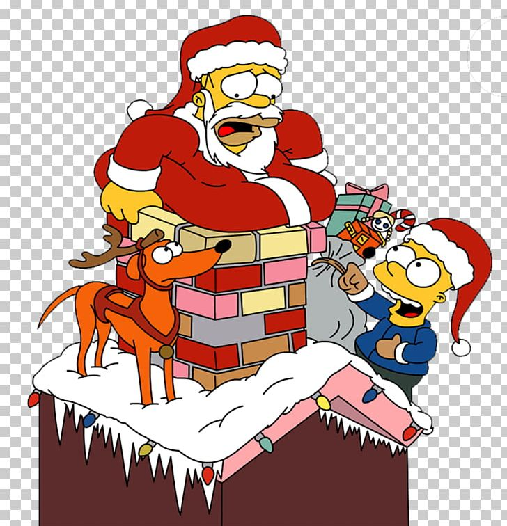 Homer simpson with santa hat clipart png transparent stock Homer Simpson Santa Claus Santa\'s Little Helper Bart Simpson Lisa ... png transparent stock