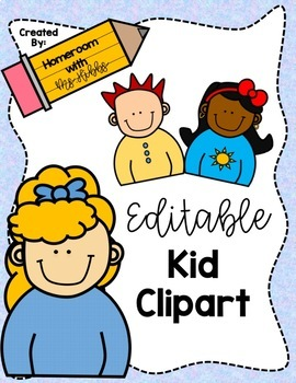 Homeroom clipart clip art transparent Editable Clipart Kids clip art transparent