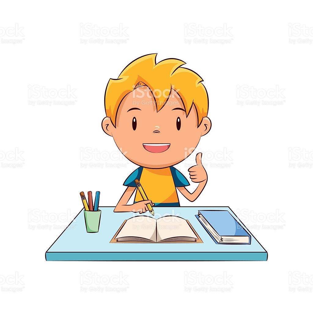 Homework clipart jpg freeuse library Boy doing homework clipart 8 » Clipart Station jpg freeuse library
